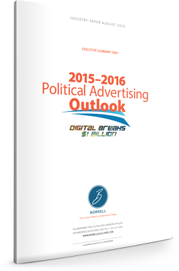 2015 to 2016 Political Advertising Outlook