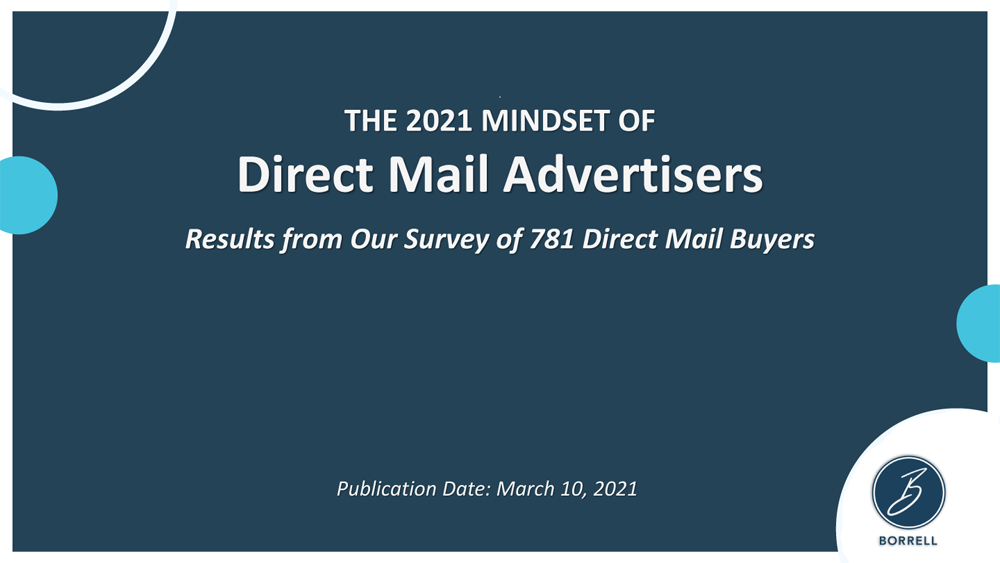 The 2021 Mindset of Direct Mail Advertisers