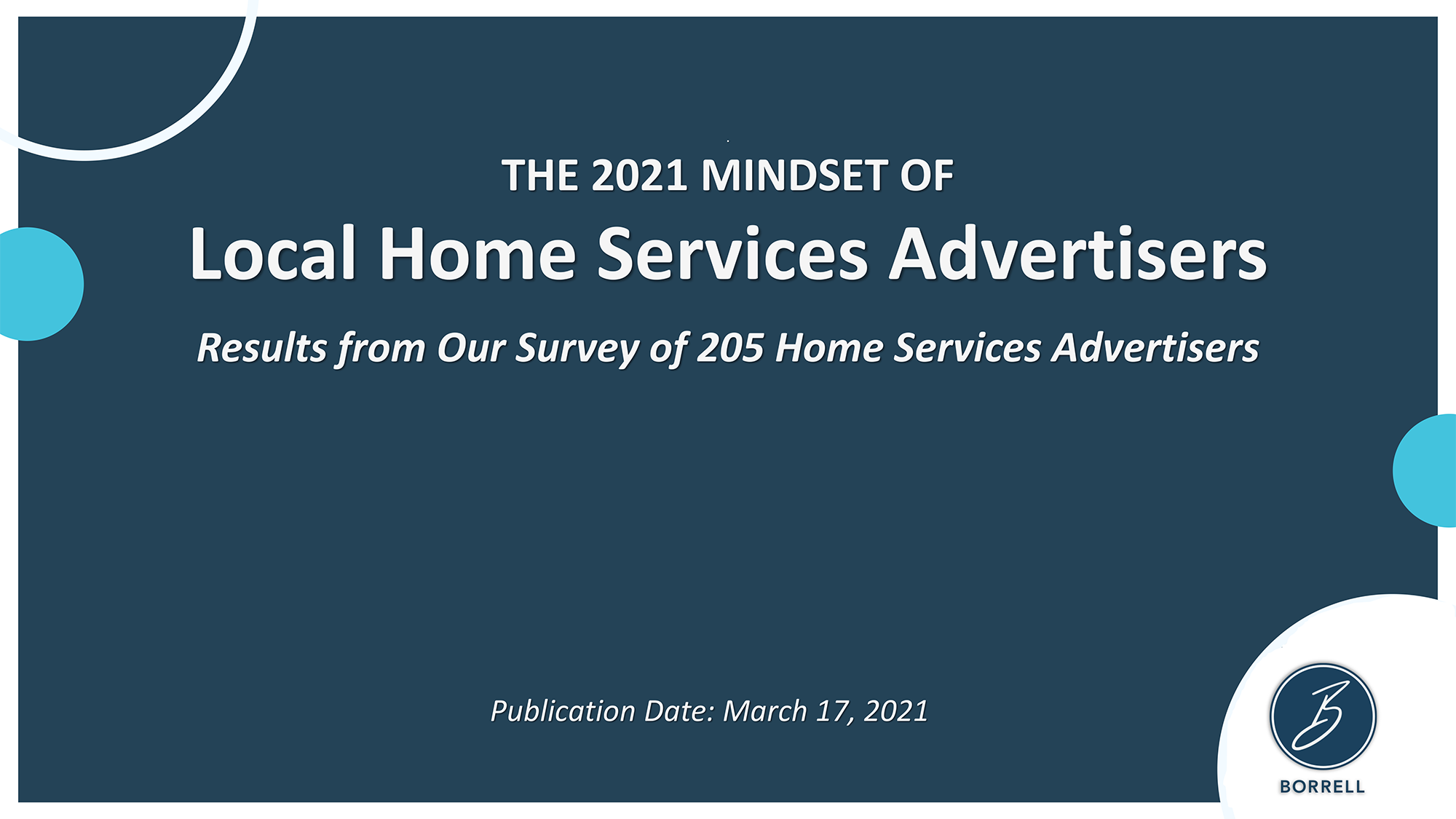 The 2021 Mindset of Local Home Services Advertisers