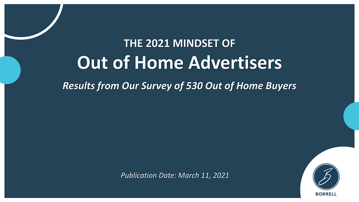The 2021 Mindset of Out of Home Advertisers