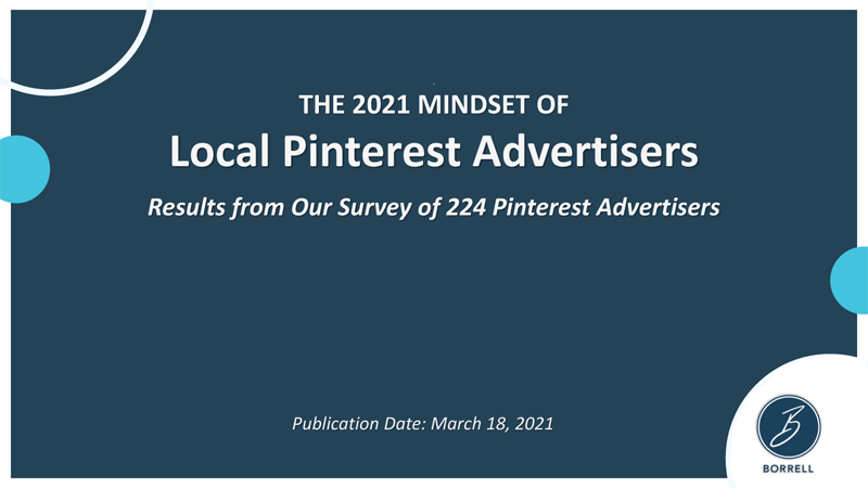 The 2021 Mindset of Local Pinterest Advertisers
