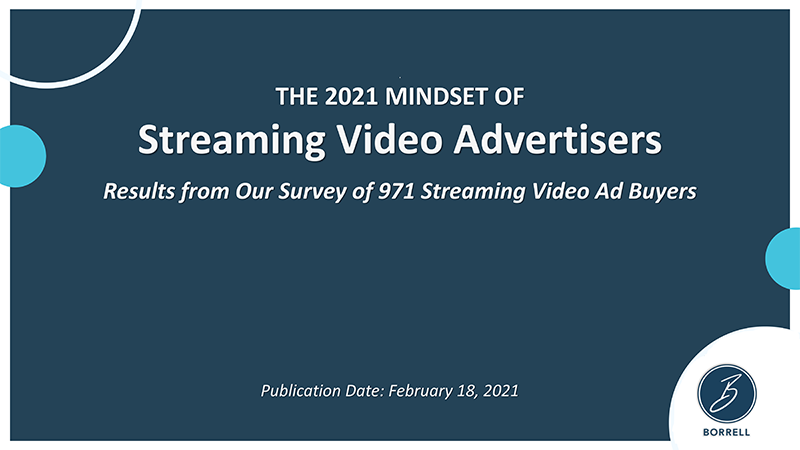 The 2021 Mindset of Streaming Video Buyers